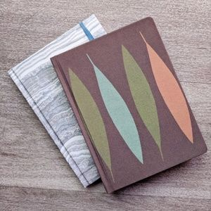 Two Hardcover Lined Notebooks/Journals/Diaries